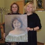 Ирина Шухаева и Инна Мень. Февраль 2015