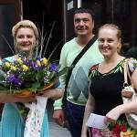 Яна Юцковская с супругом. Творческий вечер Ирины Шухаевой, 30 мая 2013 года
