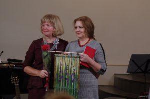 Ирина Шухаева и Надежда Стрелкова. Ноябрь 2019