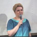Ирина Шухаева на своем творческом вечере 30 мая 2013 года