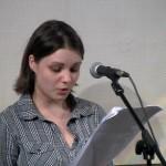 Анастасия Шухаева исполняет юмористические миниатюры