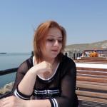 Ирина Шухаева. Баку. Апрель 2015
