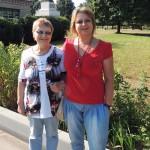 Ирина Шухаева с мамой в Тарутино