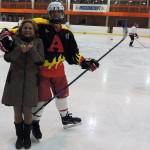Ирина Шухаева и хоккейный клуб А-Линия