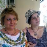 Ирина и Анастасия Шухаевы. Крым 2014.
