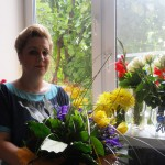 Ирина Шухаева после творческого вечера 30 мая 2013 года.