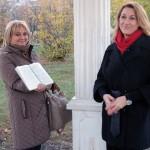 Ирина Шухаева и Ирина Бреусова. Очередная съемка