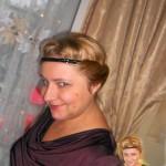Новая прическа Ирины Шухаевой для записи видео про Александра Блока