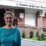 Ирина Шухаева после съемок роликов для Клиники профессора Юцковской. Июнь 2013.